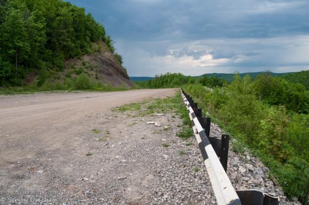 Строящаяся дорога Стерлитамак – Белорецк