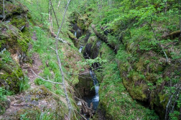 Каскады водопада Кунгур-Туй