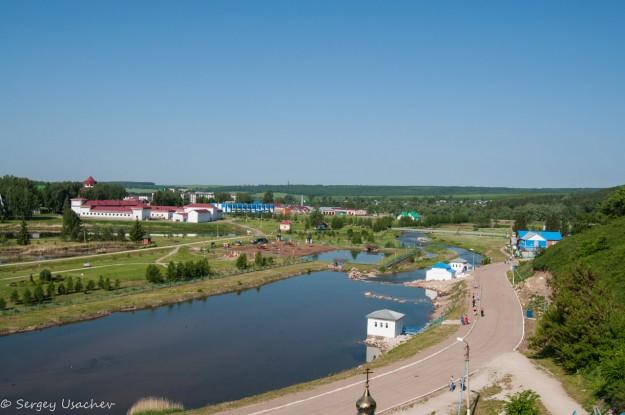 Вид на курорт Красноусольск