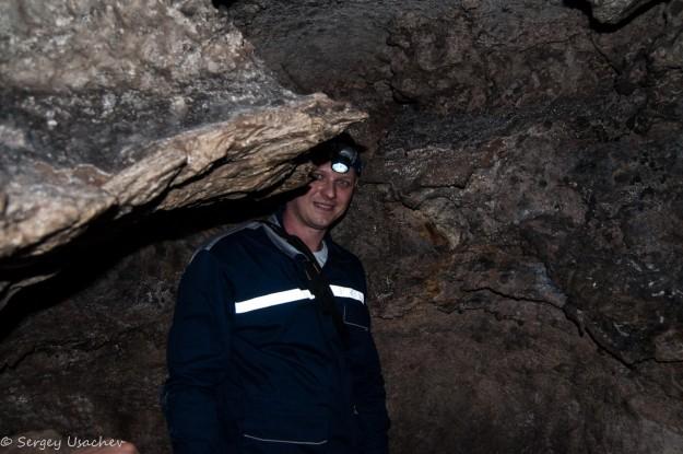 В Ишеевской пещерной системе