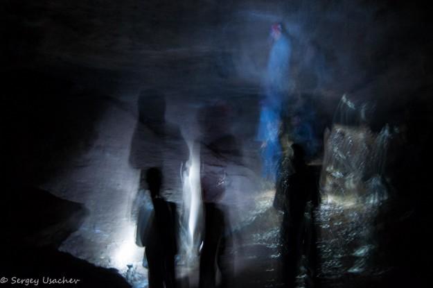 Призраки в пещере :)