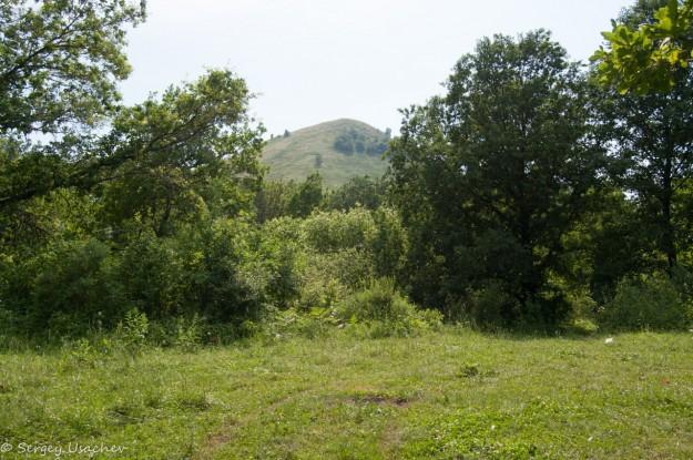 Место для лагеря у подножия Юрактау
