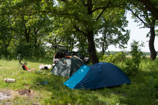 Лагерь у Юрактау