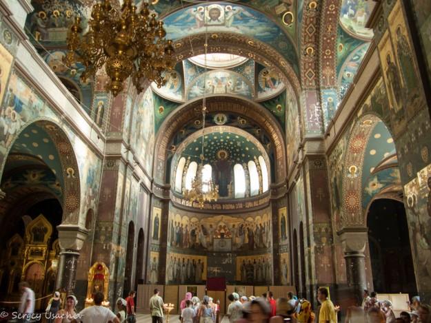 Новоафонский мужской монастырь внутренние залы