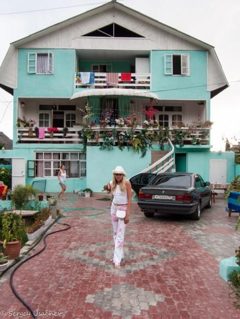 Мини-гостиница, приютившая нас на ближайшую неделю