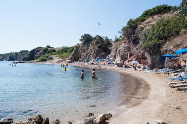 Пляж у купальни Афродиты