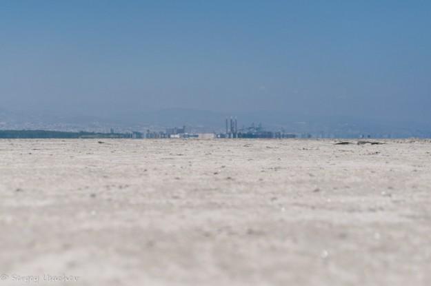 Солёное озеро Акротири (Akrotiri Salt Lake)