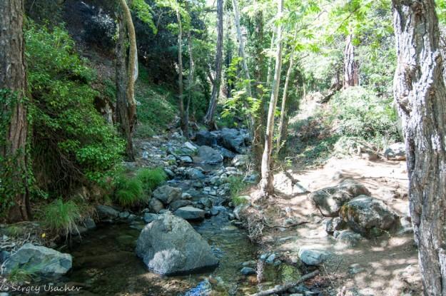 Река Криос Потамос – «холодная река»