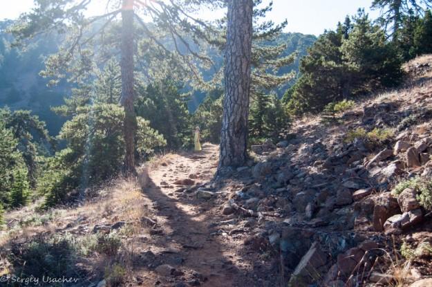 На тропе Аталанта (Atalante trail)