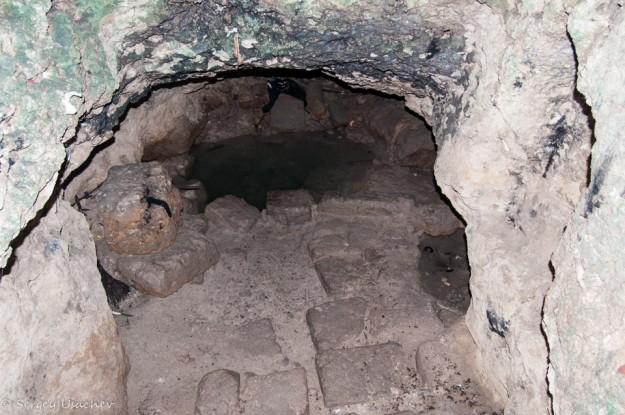 Святой источник в катакомбах Святой Соломонии