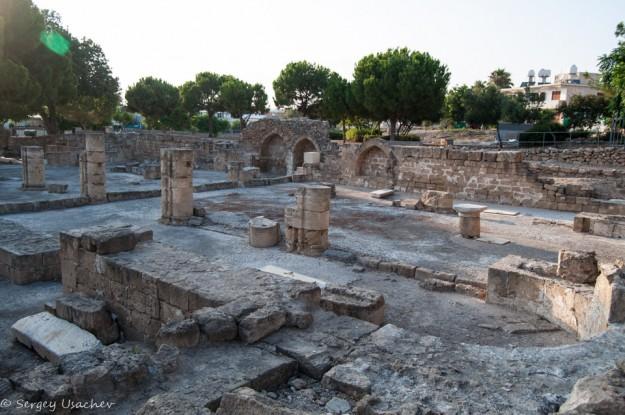 Руины раннехристианской базилики