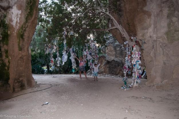 Катакомбы Святого Ламбриана - вид изнутри