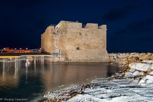 Средневековая крепость на набережной