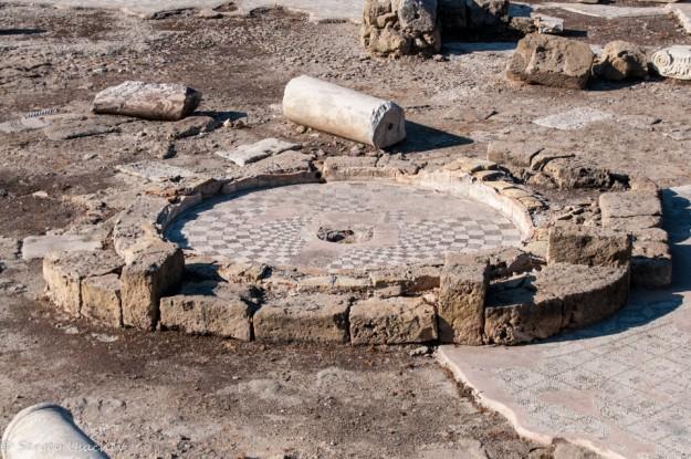 Мозаика раннехристианской базилики