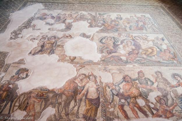 Мозаики дома Эона