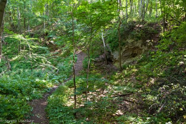 Тропа до пещеры Колобок