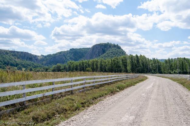 Дорога после Мраково до Мурадымовского ущелья