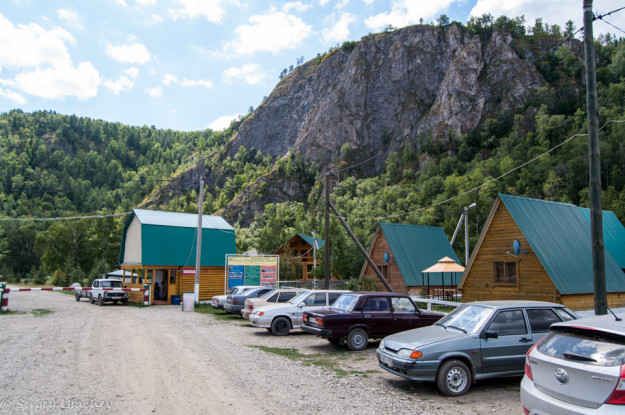 Въезд в Мурадымовское ущелье
