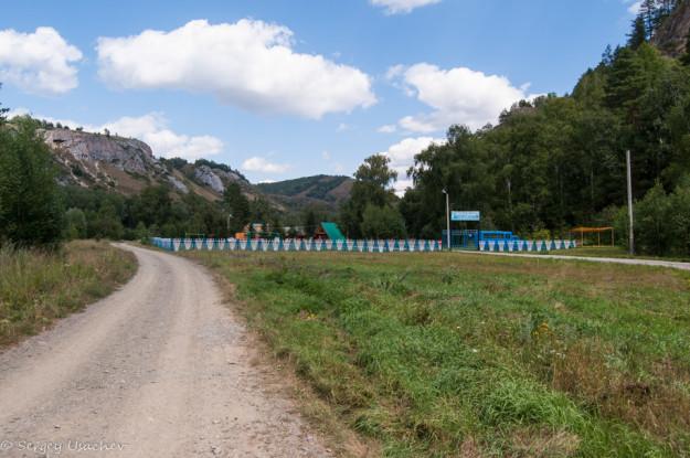 Детский лагерь в Мурадымовском ущелье