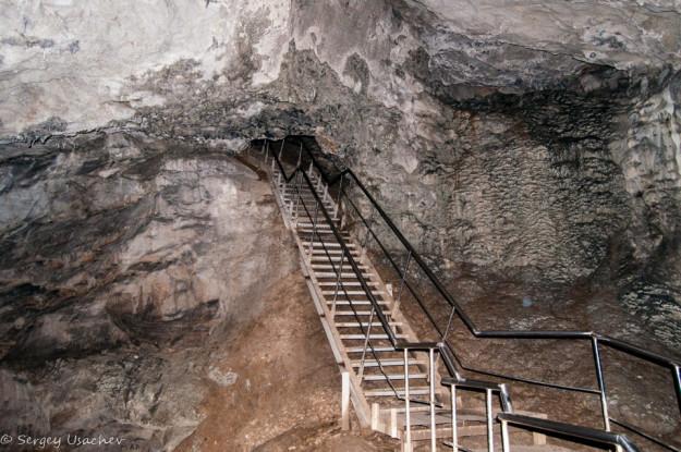 Оборудованный маршрут в Каповой пещере (Шульган-Таш)