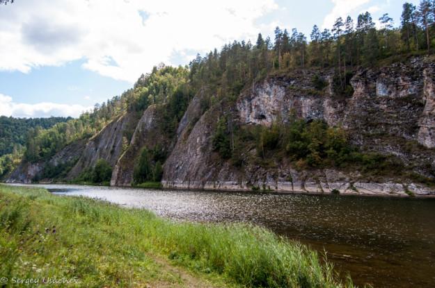 На берегу реки Белая
