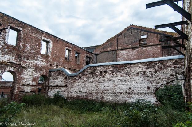 Защита от разрушения Воскресенского завода