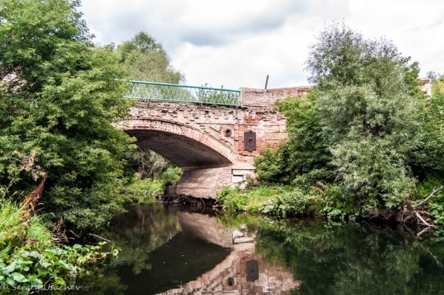 Мост через реку Тор в Верхоторе