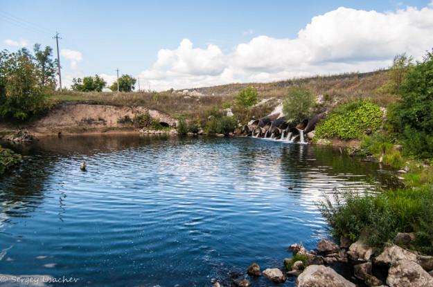 Водосброс Торского водохранилища