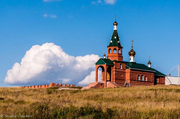 Строящийся женский монастырь Святой блаженной Варвары Скворчихинской