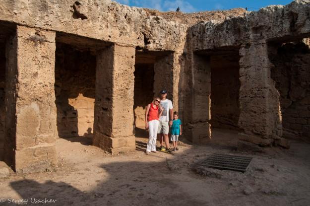 Кипр 2015. Царские гробницы