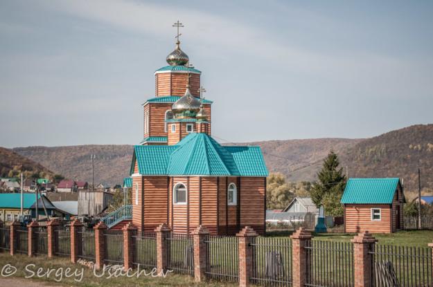 Церковь в честь Святой Варвары Скворчихинской