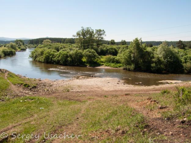 Река Белая у Арского камня