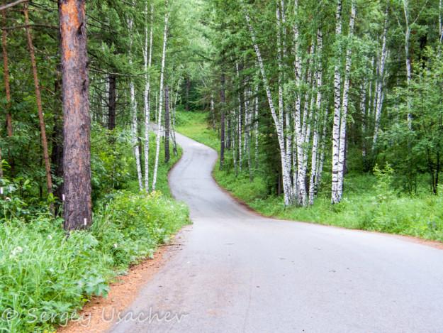 Трассы для тренировок в Абзаково
