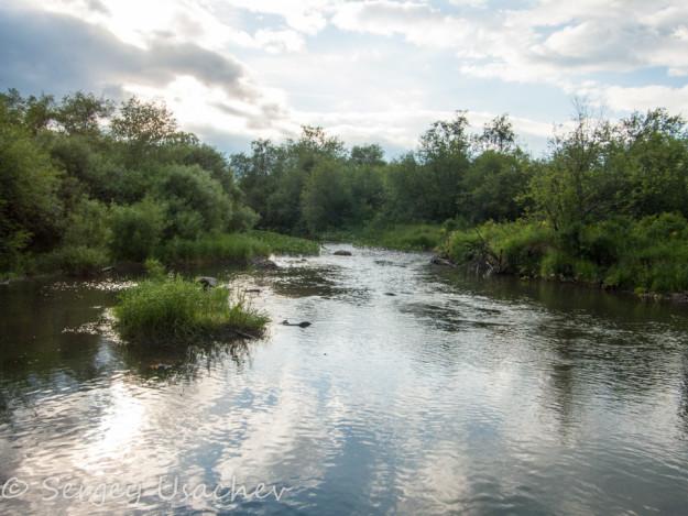 Река Малый Кизил около Абзаково