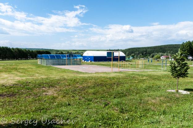 Спортивная зона санатория