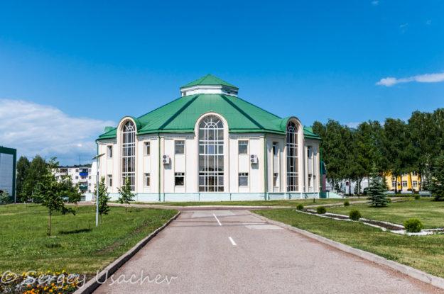 Столовая (баш. Ашхана) санатория «Красноусольск»
