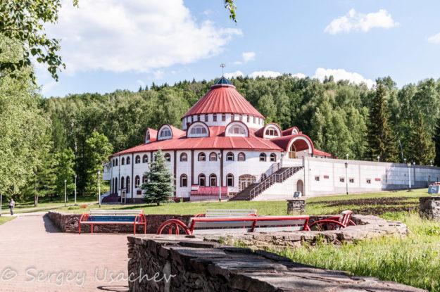 Водолечебница санатория «Красноусольск»