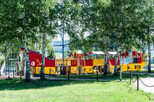 Детская площадка санатория «Красноусольск»
