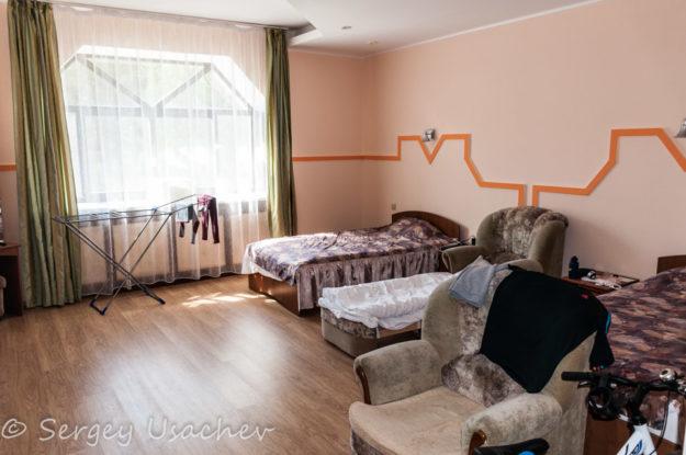 Наша комната в 4-ом корпусе