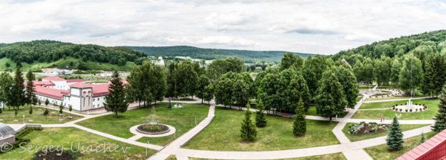Панорама из Центра Досуга санатория