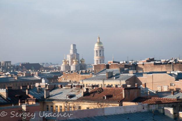 Виды с крыш Лофт проекта ЭТАЖИ