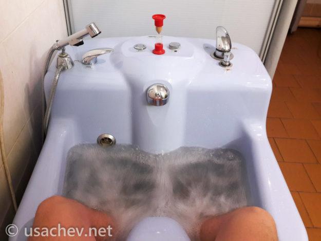 Ванна вихревая 2-х кам. (ноги)