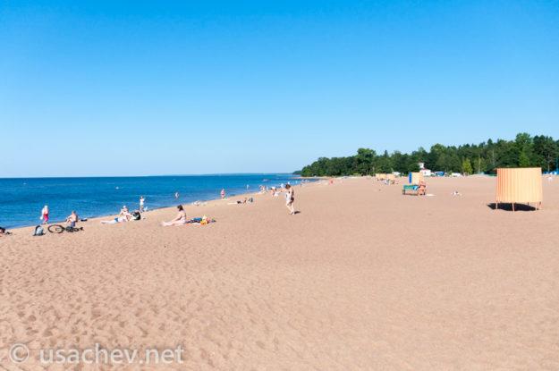 Зеленогорск «Золотой пляж»
