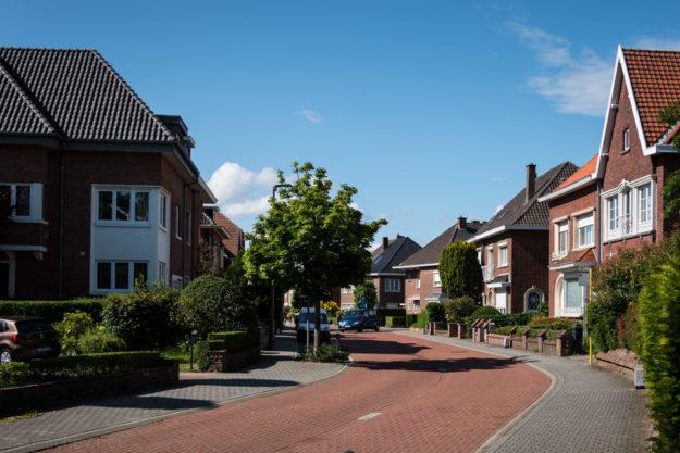 Частный сектор Мехелена (In the suburbs of Mechelen)
