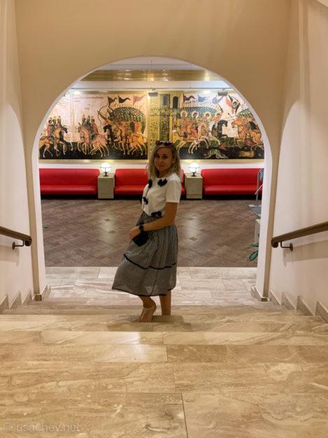 В Новгородском государственном объединенном музее-заповеднике на территории Новгородского кремля