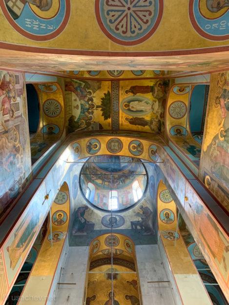 Роспись в Георгиевском соборе Свято-Юрьева монастыря