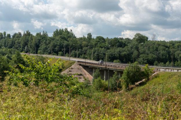 Мост через реку Тосна