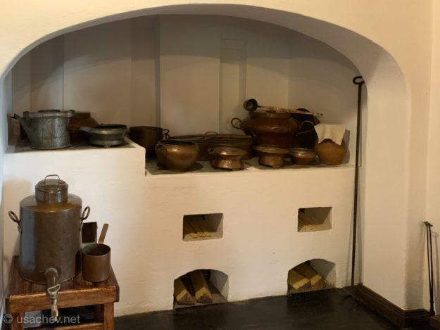 Кухня в доме-музее Абрама Петровича Ганнибала