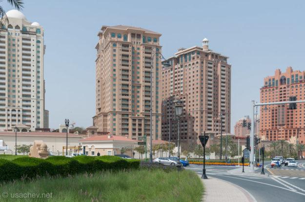 Жемчужный бульвар в Дохе