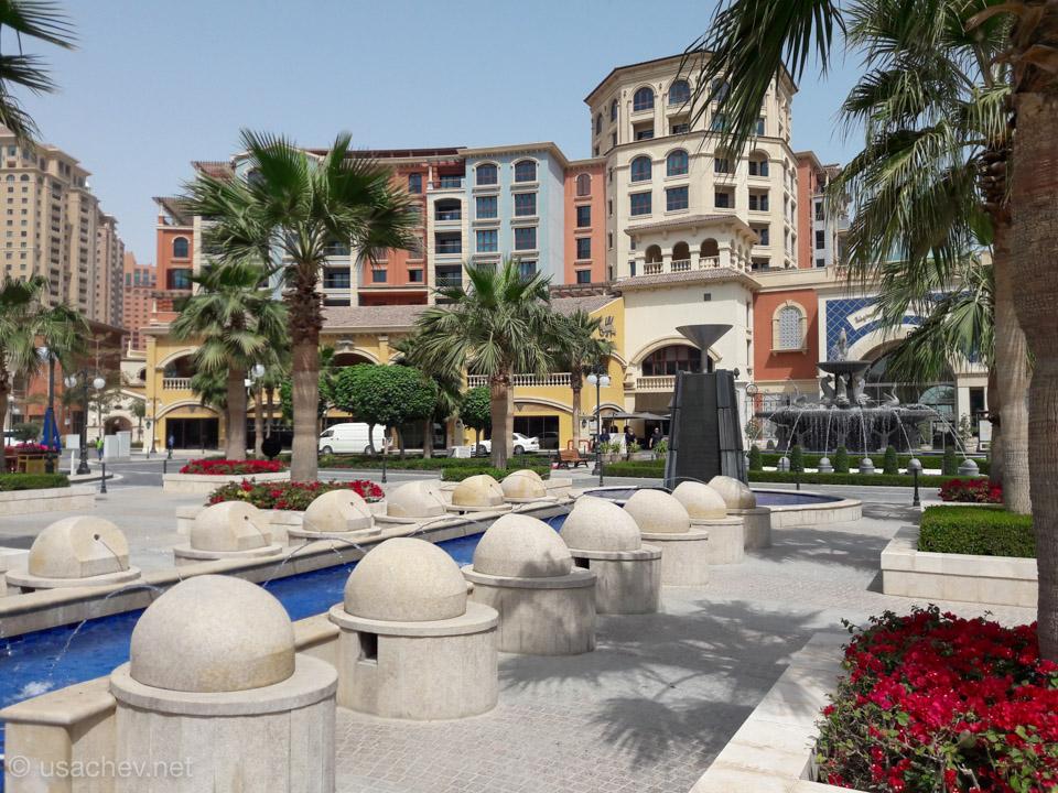 Жемчужина Катара - внутренний двор